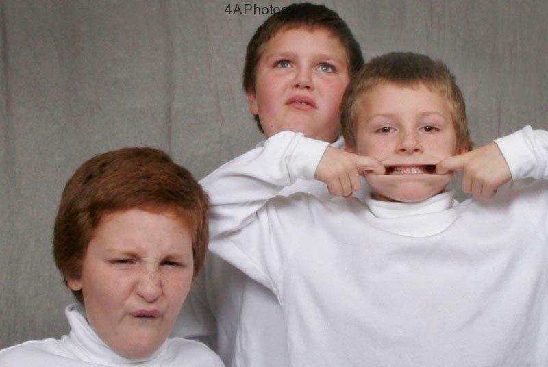Moffit boys